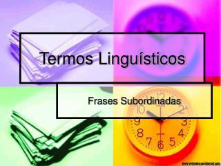 Termos Linguísticos