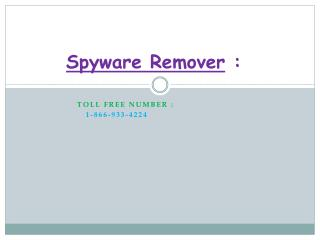 Spyware Remover Software Optimizer