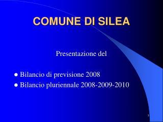 COMUNE DI SILEA