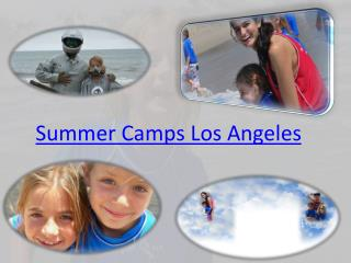 Summer Camp Los Angeles