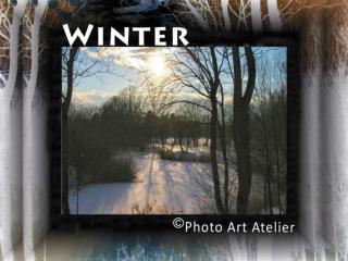 Winterzauber Rau und kalt weht es durch Feld und Wald