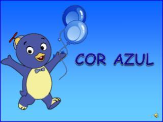 COR AZUL