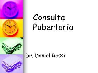 Consulta Pubertaria