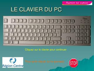 LE CLAVIER DU PC