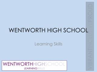 WENTWORTH HIGH SCHOOL