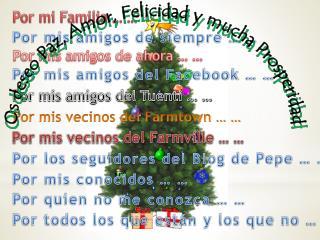Por mi Familia … …