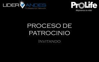 PROCESO DE PATROCINIO
