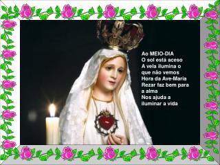 Texto: Um servo de Deus  Musica: Ave Maria  Formatação: Ana Delia