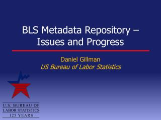 BLS Metadata Repository – Issues and Progress