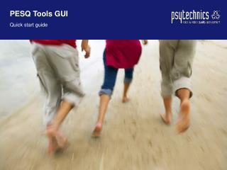 PESQ Tools GUI Quick start guide