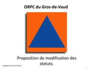 ORPC du Gros-de-Vaud