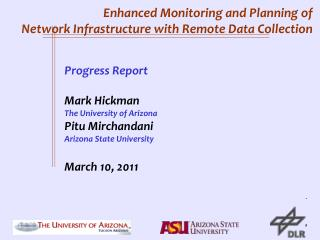 Enhanced Monitoring and Planning of Network Infrastructure with Remote Data Collection