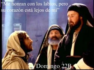 Domingo 22B