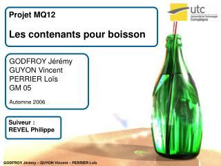 Projet MQ12 Les contenants pour boisson