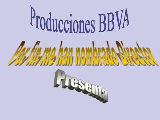 Producciones BBVA