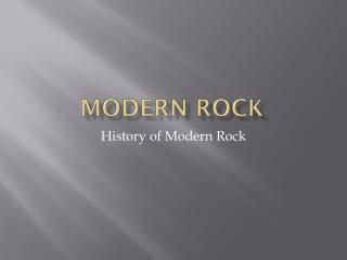Modern Rock