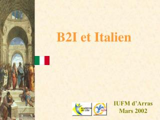 B2I et Italien