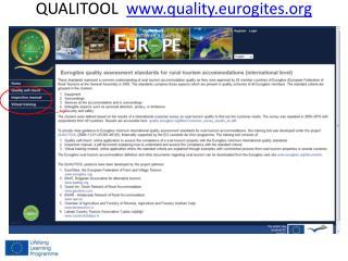 QUALITOOL   quality.eurogites