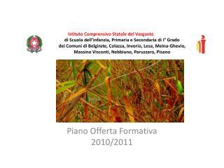 Piano Offerta Formativa 2010/2011