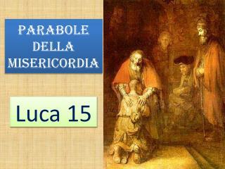 Parabole della  misericordia