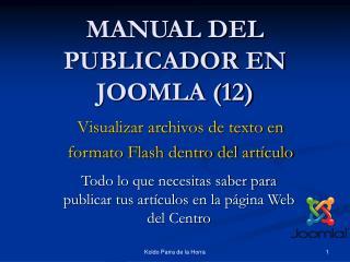 MANUAL DEL PUBLICADOR EN JOOMLA (12)