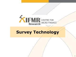Survey Technology