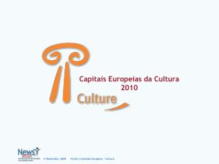 Capitais Europeias da Cultura 2010