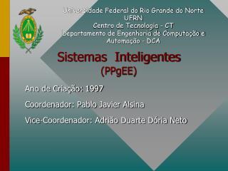 Sistemas  Inteligentes (PPgEE)