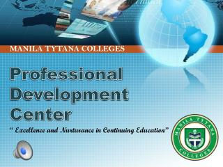 Professional  Development Center