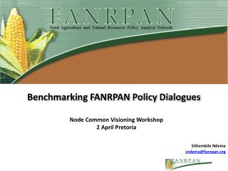 Benchmarking FANRPAN Policy Dialogues