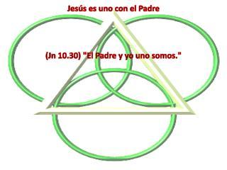 Jesús es uno con el Padre