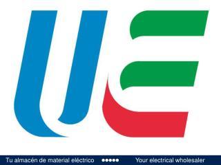 Tu almacén de material eléctrico