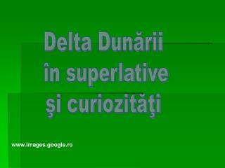 Delta Dunării  în superlative şi curiozităţi