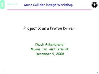 Proton Driver Options Cost Comparison
