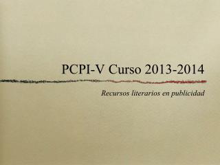 PCPI-V Curso 2013-2014