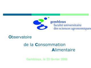 Gembloux, le 23 février 2006
