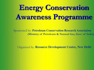 Energy Conservation              Awareness  Programme