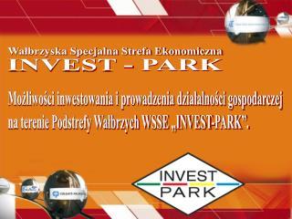 Możliwości inwestowania i prowadzenia działalności gospodarczej