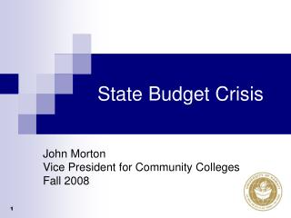 State Budget Crisis