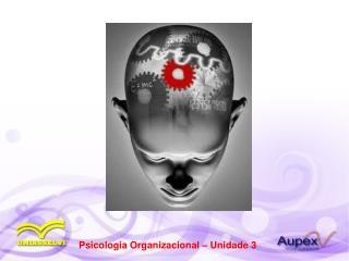 Psicologia Organizacional � Unidade 3