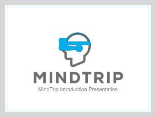 MindTrip Introduction Presentation