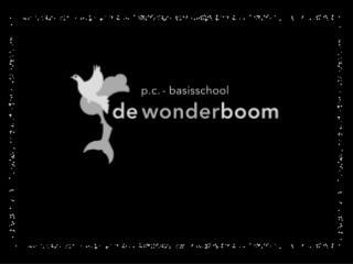 Het team   en de leerlingen van De Wonderboom Wensen u prettige feestdagen  en een gelukkig  2013