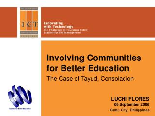 Involving Communities for Better Education