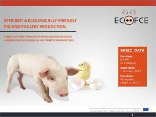 WP3ECO-FCE Protocol –  IN OVO WORK Task 3.3