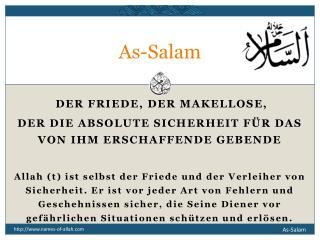 As-Salam