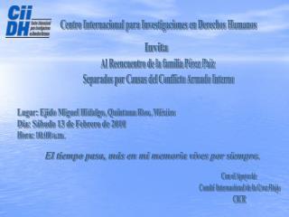 Centro Internacional para Investigaciones en Derechos Humanos