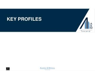 Key profiles