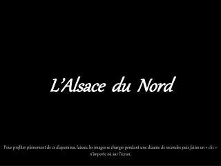 L'Alsace  du  Nord