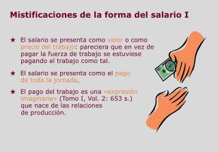 Mistificaciones de la forma del salario  I