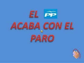 ACABA CON EL PARO